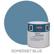 Protek Royal Exterior Paint 5 Litres - Somerset Blue