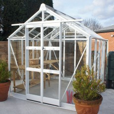"7'5"" (2.22m) Wide Elite Titan 700 Aluminium Greenhouse PACKAGE Range"