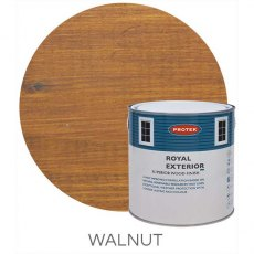 Protek Royal Exterior Paint 5 Litres - Walnut