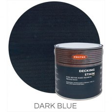 Protek Decking Stain 2.5 Litres - Dark Blue