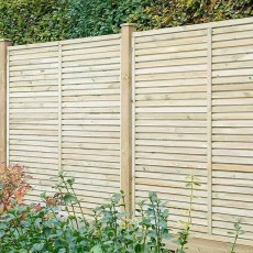 6ft High (1800mm) Grange Contemporary Vogue Panel - Pressure Treated
