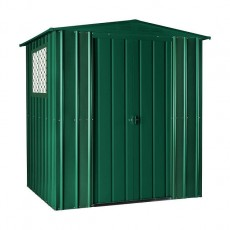 6 x 5 (1.71m x 1.44m) Lotus Apex Metal Shed (Heritage Green) - Limited Edition