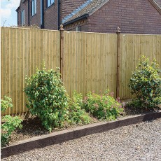 6ft High (1800mm) Grange Standard Feather Edge Fencing Packs - Pressure Treated