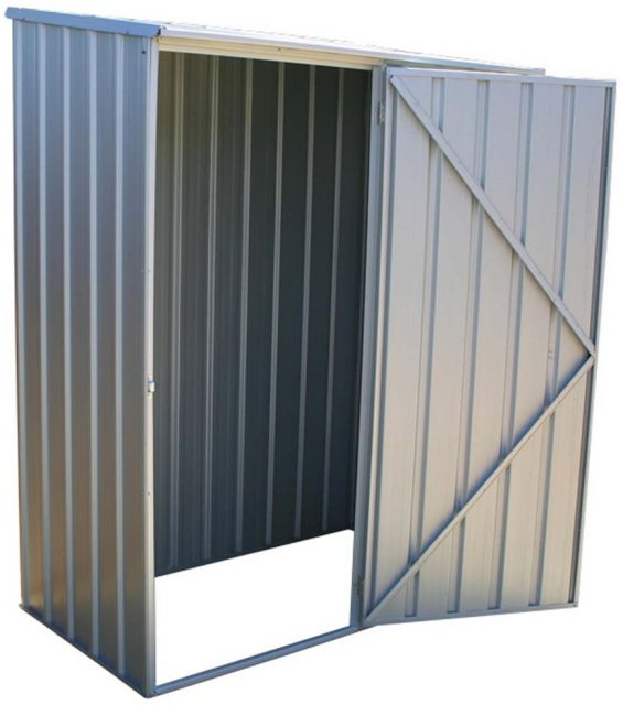 Mercia Space Saver Metal Shed 5x3