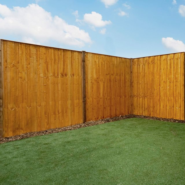 Mercia 6ft High (1829mm) Mercia Closeboard Vertical Hit and Miss Fencing Packs