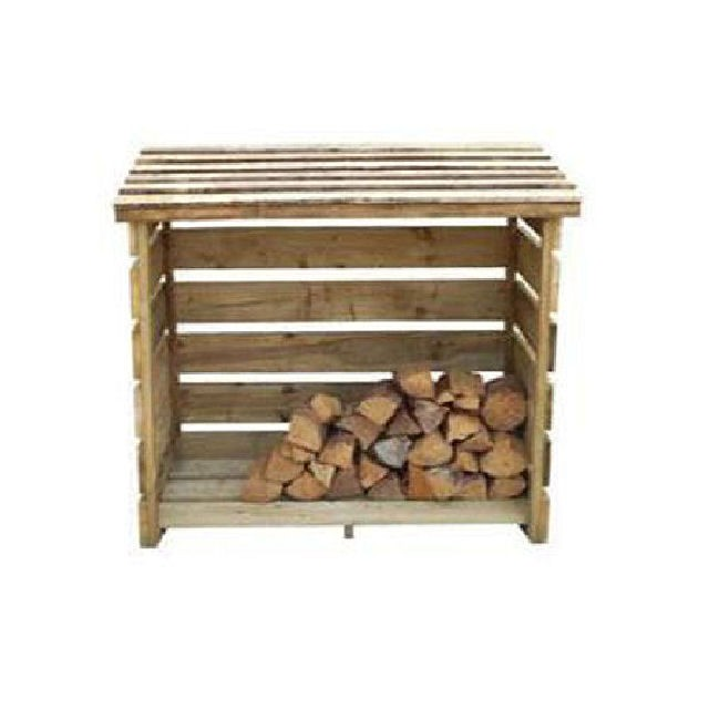 Forest 4 x 3 (1160mm x 640mm) Forest Log Store - Small