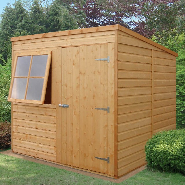 Shire Shiplap Pent Shed