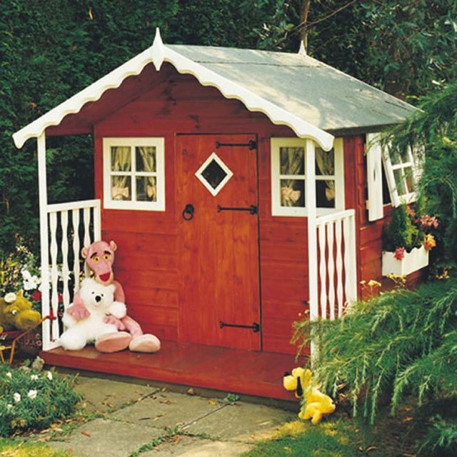 Shire Den Wooden Playhouse