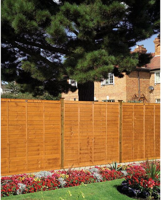 Grange Professional Lap Fencing - Golden Brown