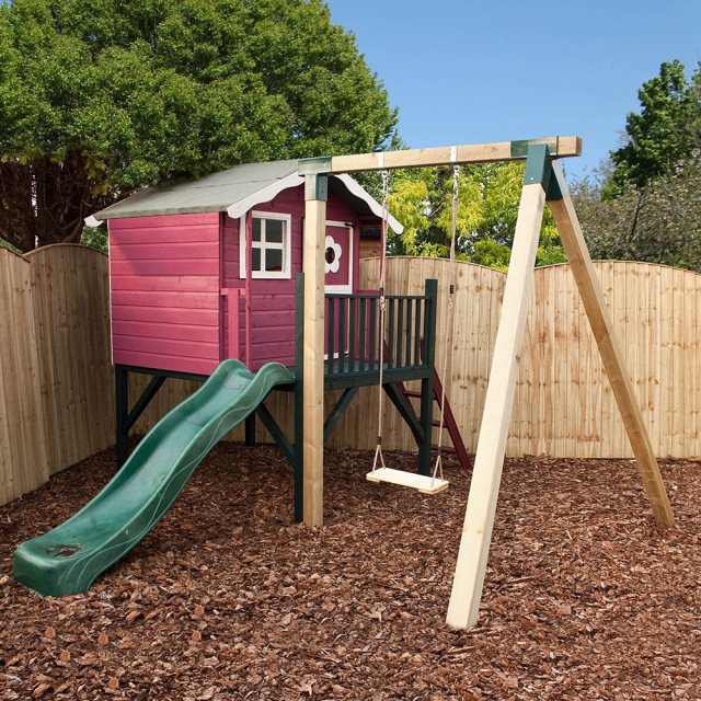 Mercia 5 x 7 (1.50m x 1.98m) Mercia Tulip Tower Activity Playhouse