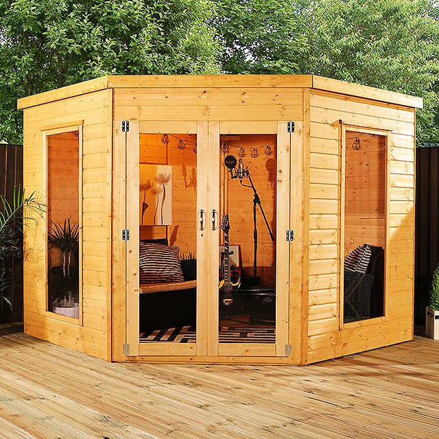 Mercia Corner  Premium Summerhouse 8x8