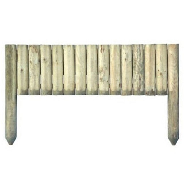 Grange 1ft High (300mm) Grange Log Edging Board (Pack of 4)