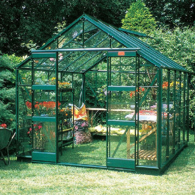 "Elite 8'5"" (2.54m) Wide Elite Belmont Colour Greenhouse Package Range"