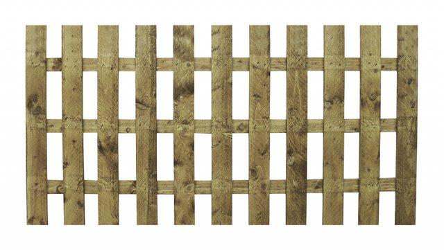 Palisade Flat Top Fencing - Pressure Treated