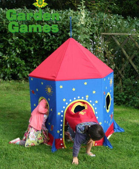 Garden Games Garden Games Rocket Play Tent