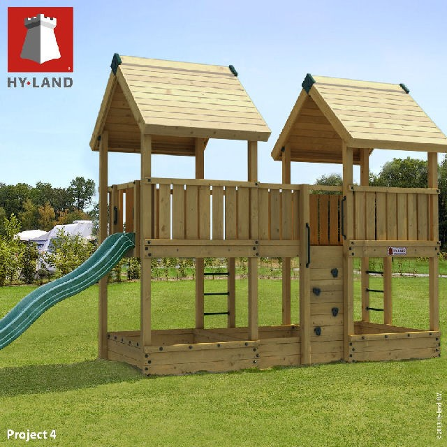 Hy-Land Hy-Land Project 4 Climbing Frame