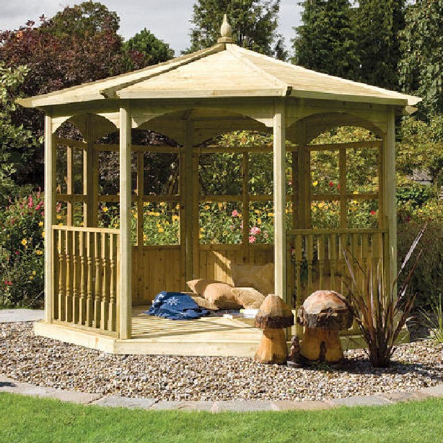 Grange Grange Regis Gazebo with Side Panels (Dressed B)