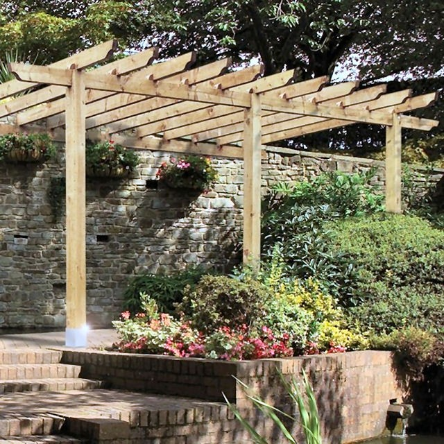 Grange Burleston Lean-to Pergola