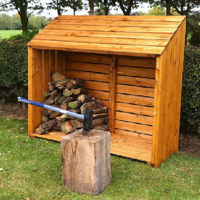 Shire 5 x 2 (1.51m x 0.57m) Shire Log Store