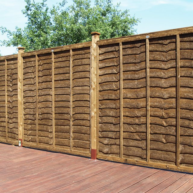 Grange Weston Professional Lap Fencing - Dark Brown