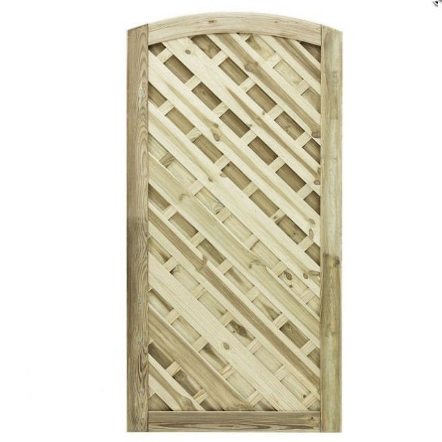 6ft High (1800mm) Grange Elite St Lunairs Gate - Pressure Treated - 6ft High