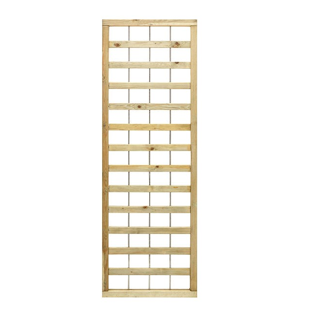 6ft High (1800mm) Grange Contemporary Fusion Trellis - Pressure Treated