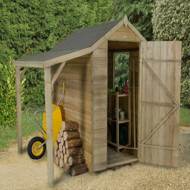 Pressure Treated Sheds - All Wooden Sheds - Elbec Garden Buildings