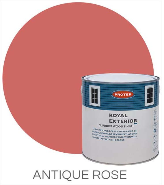 Protek Royal Exterior Paint 5 Litres - Antique Rose