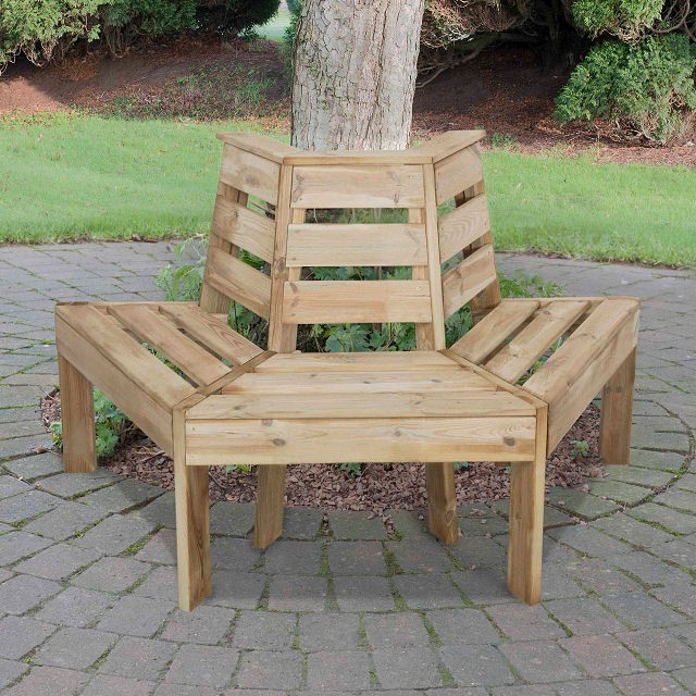 Forest Forest Tree Seat - Pressure Treated