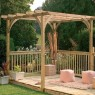 Forest 16 x 8 (4.88m x 2.44m) Ultima Deck Kit including Pergola