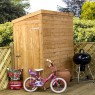 Mercia 6 x 3 (1.82m x 1.01m) Mercia Shiplap Pent Shed with Single Door