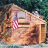 Shire 6 x 4 (1.79m x 1.19m) Shire Command Post Playhouse