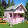 Shire 8 x 9 (2.39m x 2.69m) Lodge Playhouse