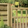 Grange 3ft High (900mm) Grange Pale Infill Path Gate - Pressure Treated