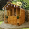 Mercia 7 x 8 (2.11m x 2.60m) Mercia Shiplap Traditional Summerhouse with Veranda