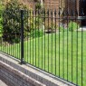 Metpost Montford Spear Top Metal Fence