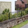 Montford Spear Top Metal Railings