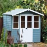 7 x 5 (2.05m x 1.55m) Shire Haddon Summerhouse