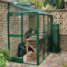 "Elite 4'4"" (1.30m) Wide Elite Windsor Colour Lean To Greenhouse Range"