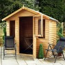 Mercia 7 x 5 (2.3m x 1.7m) Mercia Overlap Summerhouse with Stable Door