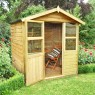 6 x 6 (1.8 x 1.8m) Forest Stroud Overlap Summerhouse Pressure Treated