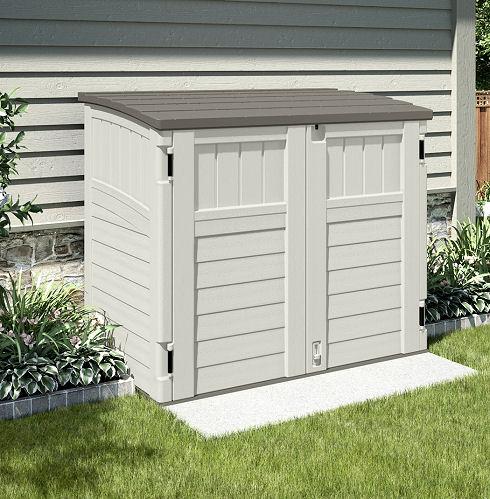 Suncast Storage Solutions For Small Gardens Elbec Garden