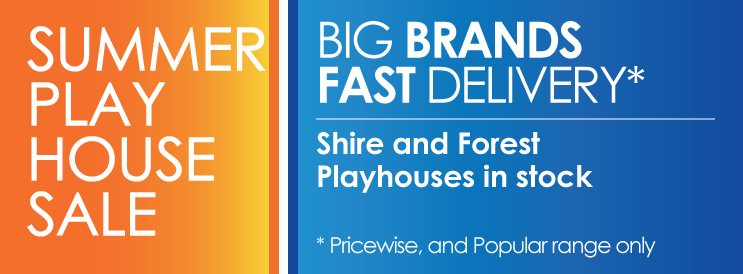 summer playhouse sale