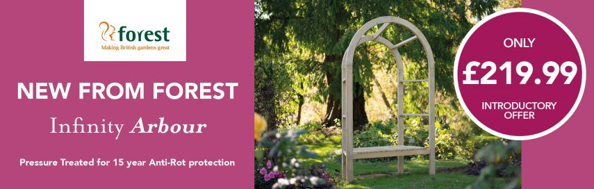 Forest Infinity Arbour - Introductory Price