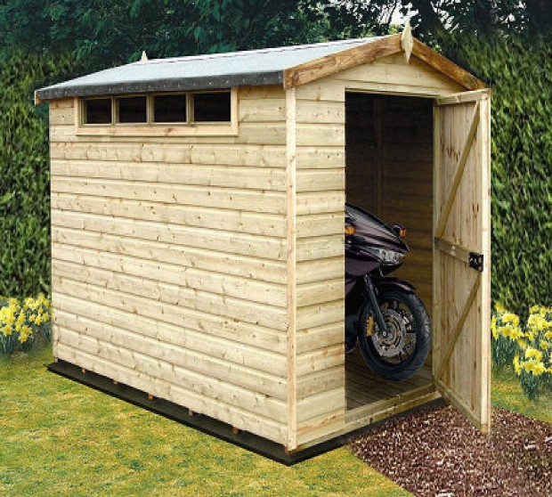 Who's Looking At Your Shed?