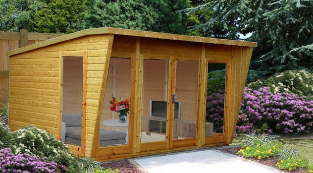 Light up your garden with a Shire Highclere summerhouse
