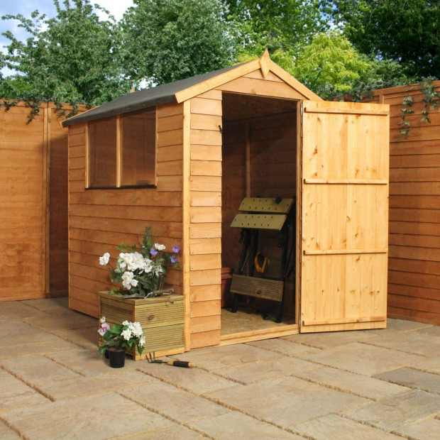 Mercia Overlap Shed 6ft x 4ft