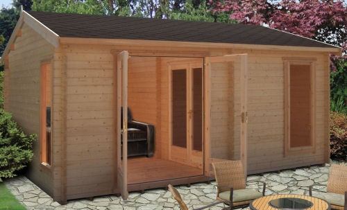 Large Log Cabins for Tiresome Teenagers or Moaning Mums