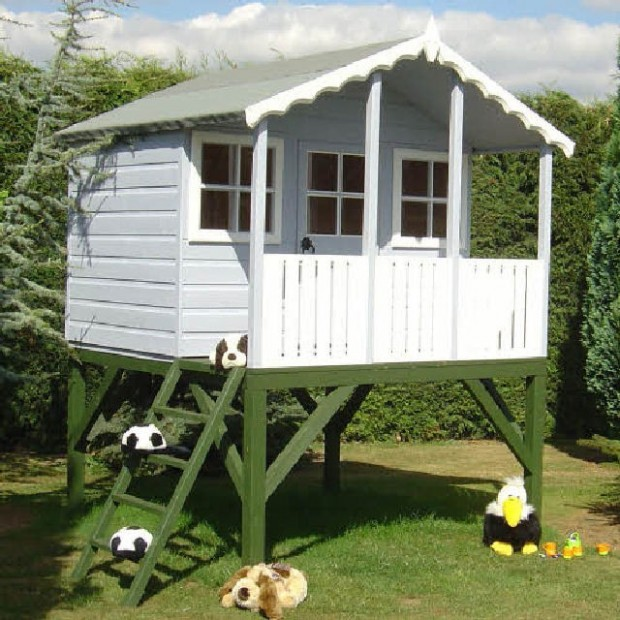 Shire Stork Playhouse Including Platform