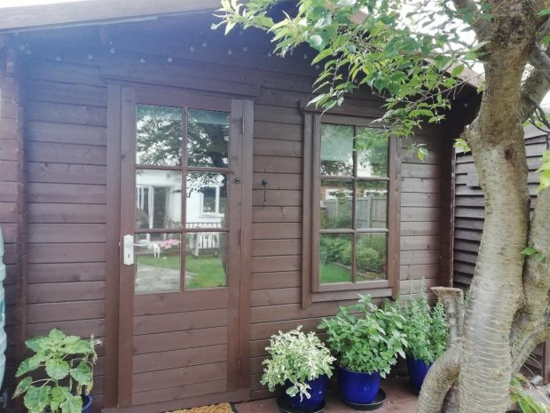 Customer Stories: Stuart's Bucknells Log Cabin